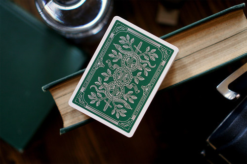 모나크덱 그린 (Monarch Playing Cards - Green Edition)