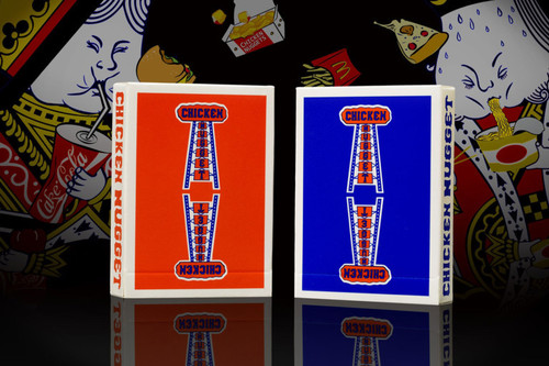 치킨너겟덱 블루 (Chicken Nugget Playing Cards - Blue)