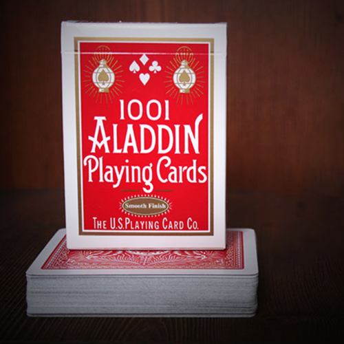 알라딘 페더백 레드 (Aladdin Playing Cards Feather Back Red)