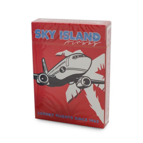스카이 아일랜드덱 레드 (Sky Island Playing Cards by Edo Huang - Red)