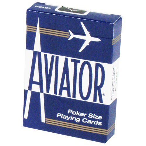 에비에이터덱 블루(Aviator Playing Card_Blue)