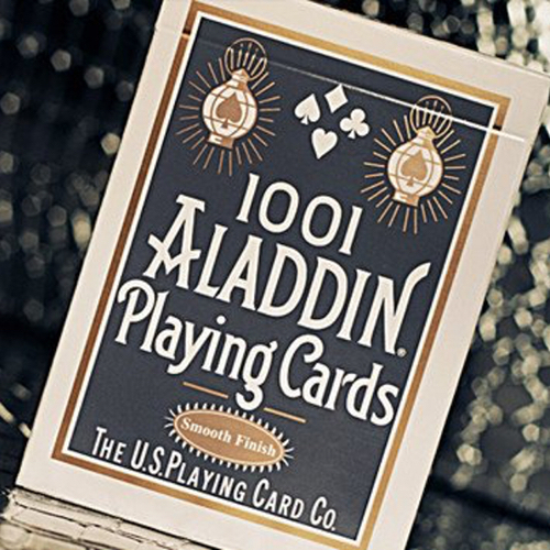 알라딘덱 페더백 화이트 (Aladdin Playing Cards, Standard Featherback - White)