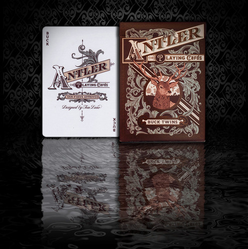 엔틀러 딥 마룬 (Antier Deep Maroon Playing Cards)