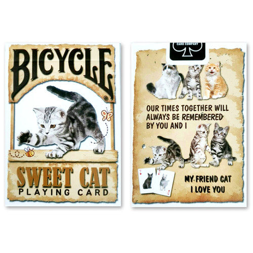 고양이 카드 (Sweet cat playing card)