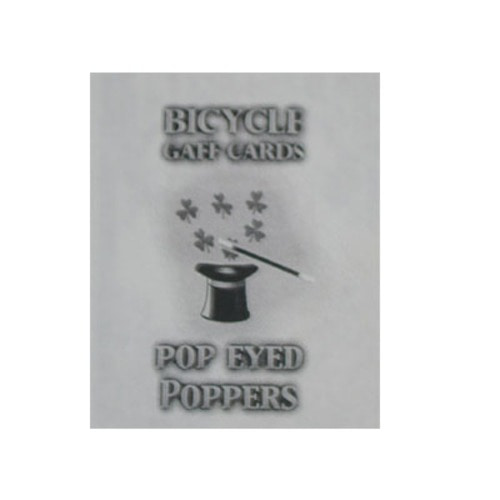 팝아이드파퍼덱_레드(Pop Eyed Popper Deck bicycle_Red) by USPCC