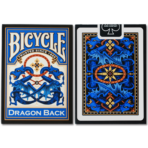 드래곤백덱_블루 (Bicycle Dragon Back Cards_Blue by USPCC)
