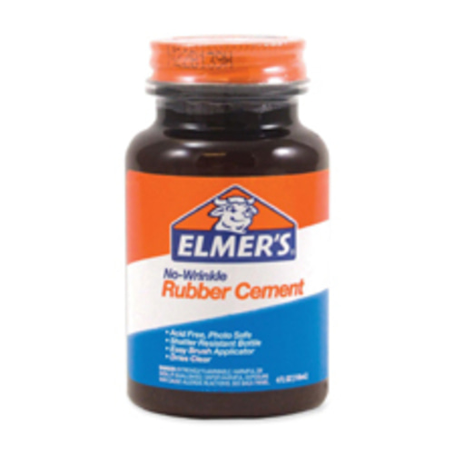 러버 시멘트 (Elmer's No-Wrinkle Rubber Cement)