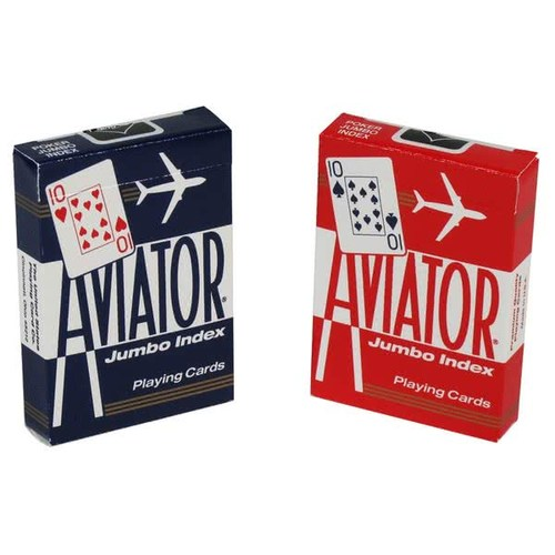 에비에이터 점보인덱스 (Aviator Playing Card_Jumbo Index)