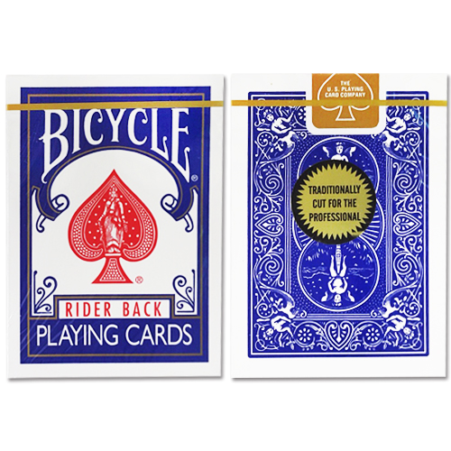 바이시클 카드 골드 스탠다드 블루 (Bicycle Playing Cards Gold_BLUE BACK_by Richard Turner)