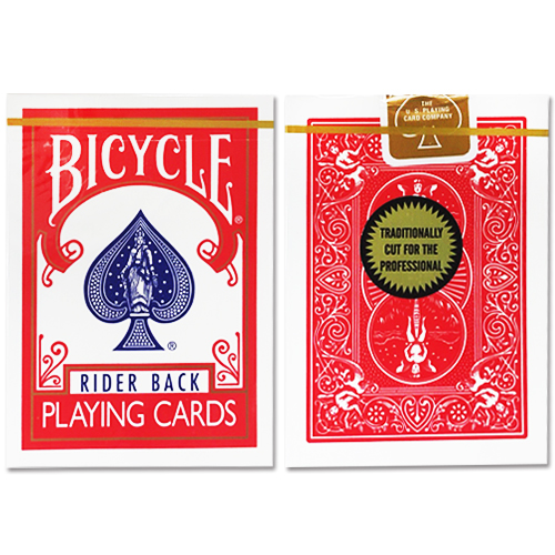 바이시클 카드 골드 스탠다드 레드 (Bicycle Playing Cards Gold_RED BACK_by Richard Turner)