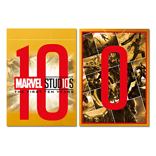 마블 10주년 골드덱 (Marvel Studios10 years Gold deck)