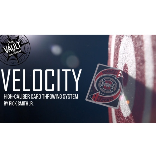 [카드 던지기 DVD] 벨로시티 (Velocity : High-Caliber Card Throwing System by Rick Smith Jr.)