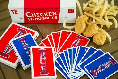 치킨너겟덱 레드 (Chicken Nugget Playing Cards Red)