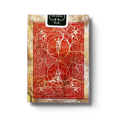 마크드 빈티지 1800덱 레드 (MARKED VINTAGE 1800 PLAYING CARDS RED)