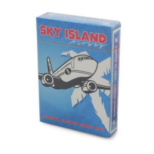 스카이 아일랜드덱 블루 (Sky Island Playing Cards by Edo Huang - Blue)