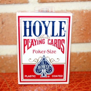호일 포커덱 레드 (Cards Hoyle Poker deck - Red)