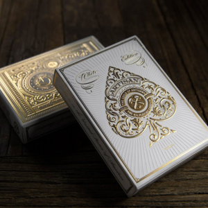 아티젠덱 화이트 (Artisan Playing Cards - White)