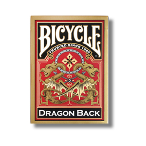드래곤백덱_골드 (Bicycle Dragon Back Cards_Gold by USPCC)