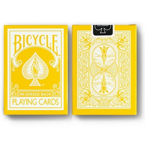 리버스드백 옐로우덱 (Reversed Back Bicycle Deck_Yellow) Yellow Deck 2nd Generation
