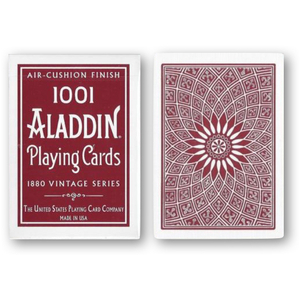알라딘덱 돔백 레드 (Vintage 1001 Aladdin Dome Back Playing Cards - Red)