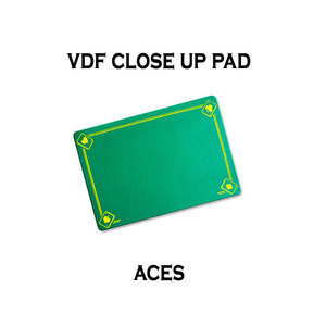 VDF클로즈업패드(ACE그림)-그린(VDF Close Up Pad with Aces - Standard size - Green)