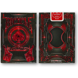 에볼루션덱 레드 (Bicycle Evolution Deck Red by USPCC)