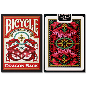 드래곤백덱_레드 (Bicycle Dragon Back Cards_Red by USPCC)