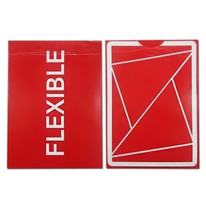 플렉시블덱 레드 (Flexible Playing Cards Red)