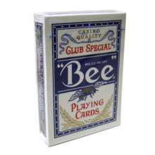 정품 비덱 블루 (Bee deck clubspecial casinoquality - Blue)