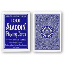 알라딘덱 돔백 블루 (Vintage 1001 Aladdin Dome Back Playing Cards - Blue)